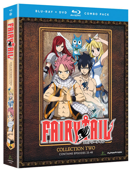 Fairy Tail Collection 2 Blu-ray/DVD