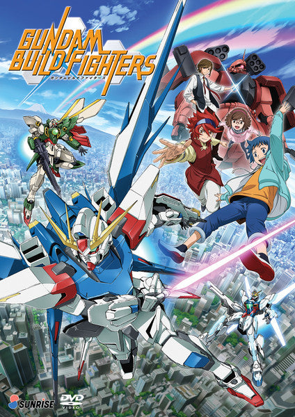 Gundam Build Fighters DVD