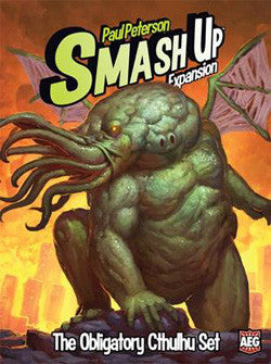 "SMASH UP: ""THE OBLIGATORY CTHULHU"" EXPANSION"