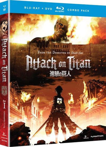 Attack on Titan: Part 1 Blu-ray/DVD combo