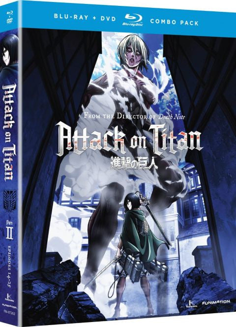 Attack on Titan: Part 2 Blu-ray/DVD combo