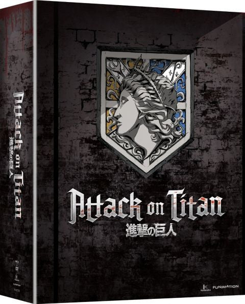 Attack on Titan: Part 2 LIMITED EDITION Blu-ray/DVD combo