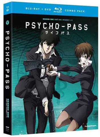 PSYCHO-PASS - Season 1 Part 1 (Blu-Ray/DVD Combo)
