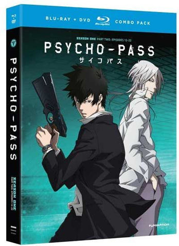 PSYCHO-PASS - Season 1 Part 2 (Blu-Ray/DVD Combo)
