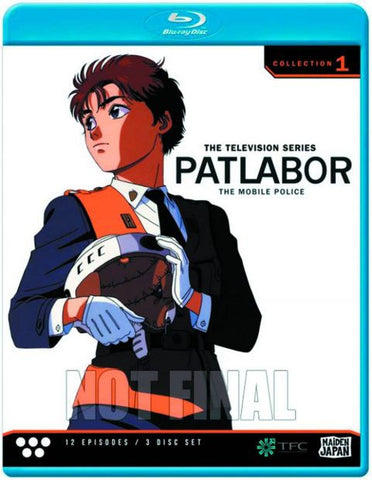 Patlabor: TV Collection 1 Blu-Ray