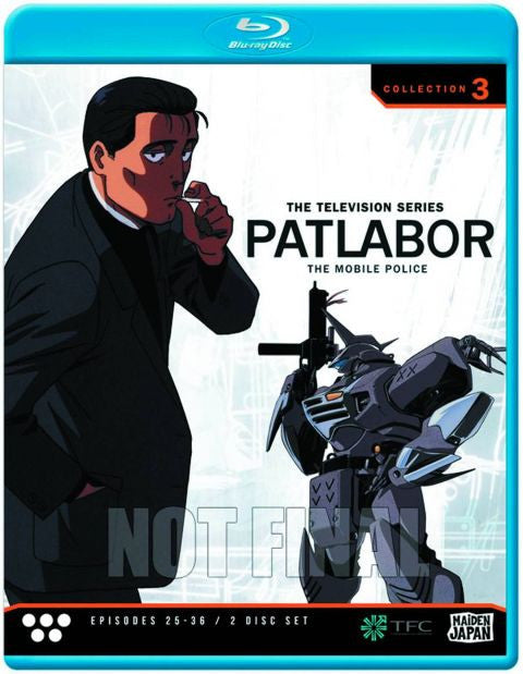 Patlabor: TV Collection 3 Blu-Ray
