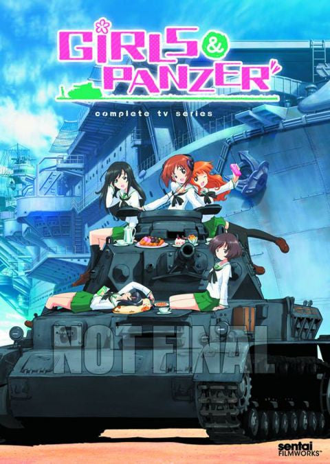 Girls Und Panzer: Complete Collection DVD