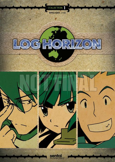 Log Horizon: Collection 1 DVD