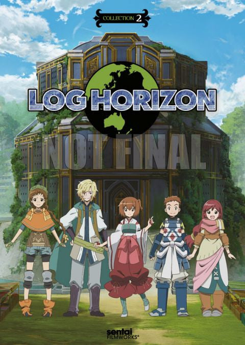 Log Horizon: Collection 2 DVD