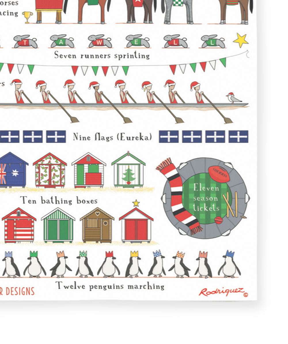 Red Tractor Designs - 12 Days Of Victoria