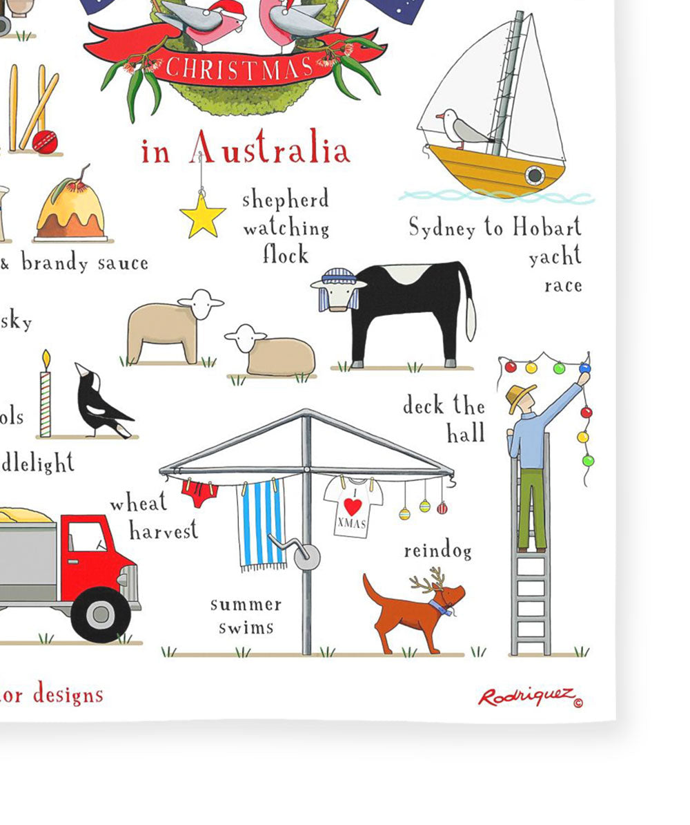 Red Tractor Designs - Christmas In Australia