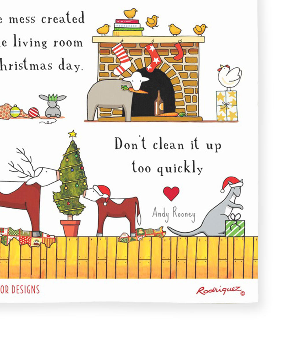 Red Tractor Designs - Christmas Mess (Limited Edition)