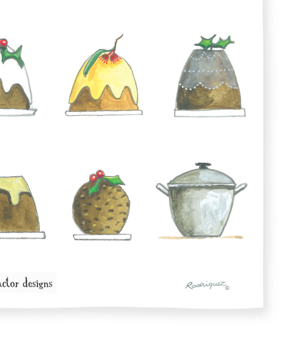 Red Tractor Designs - Christmas Puddings