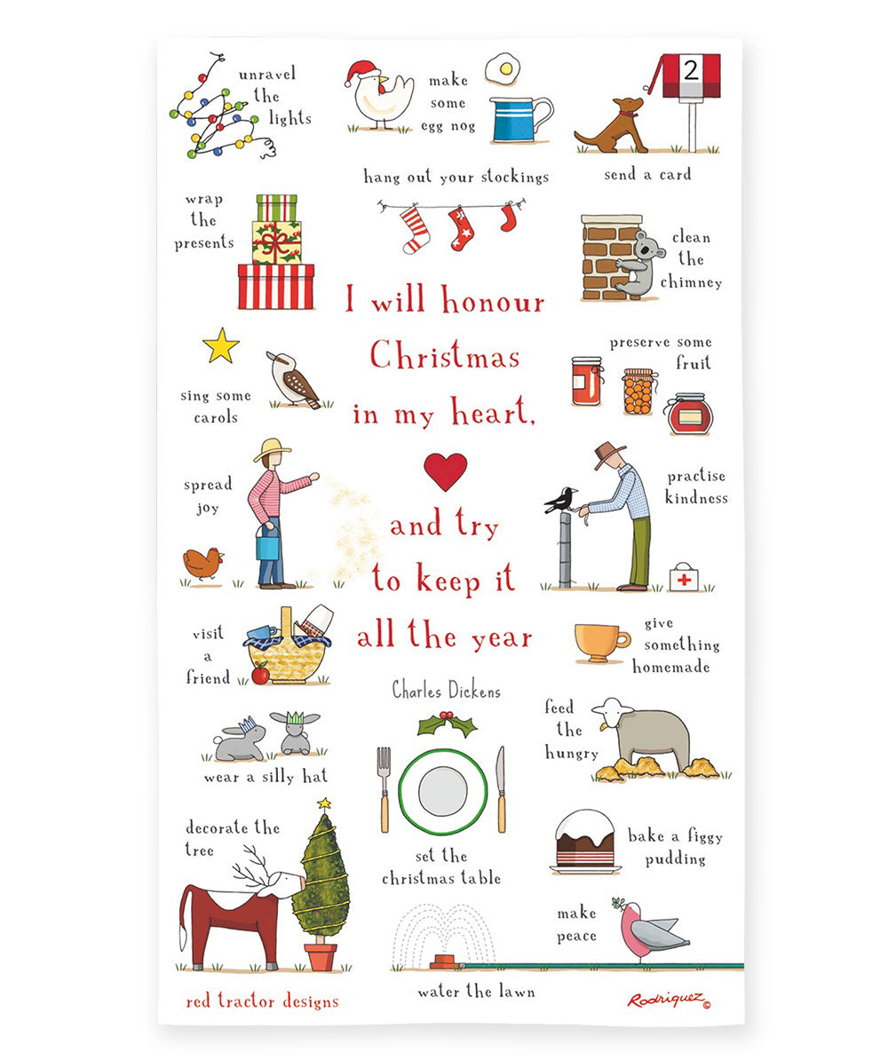 Red Tractor Designs - Christmas In My Heart