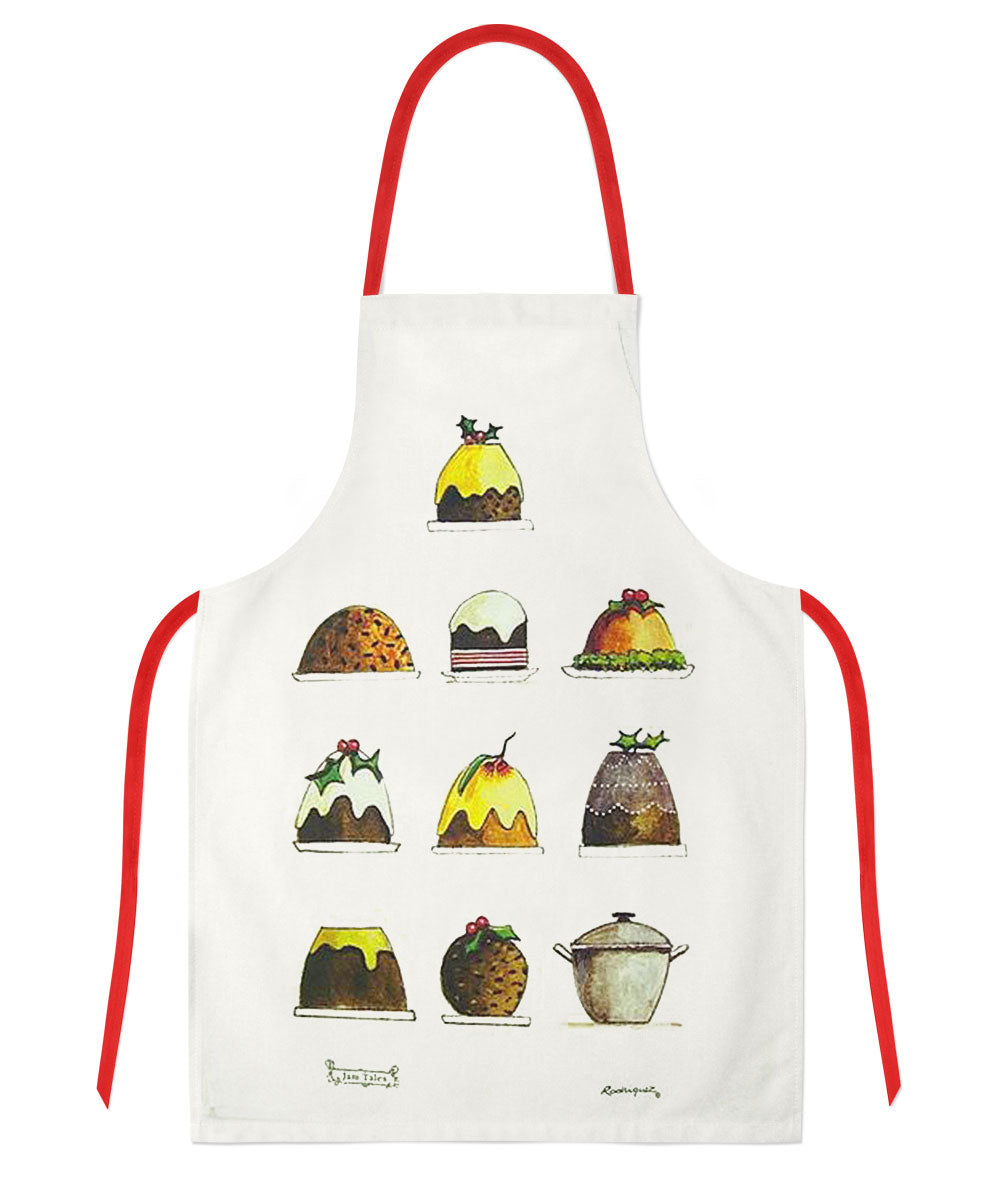 Red Tractor Designs - Christmas Puddings Apron