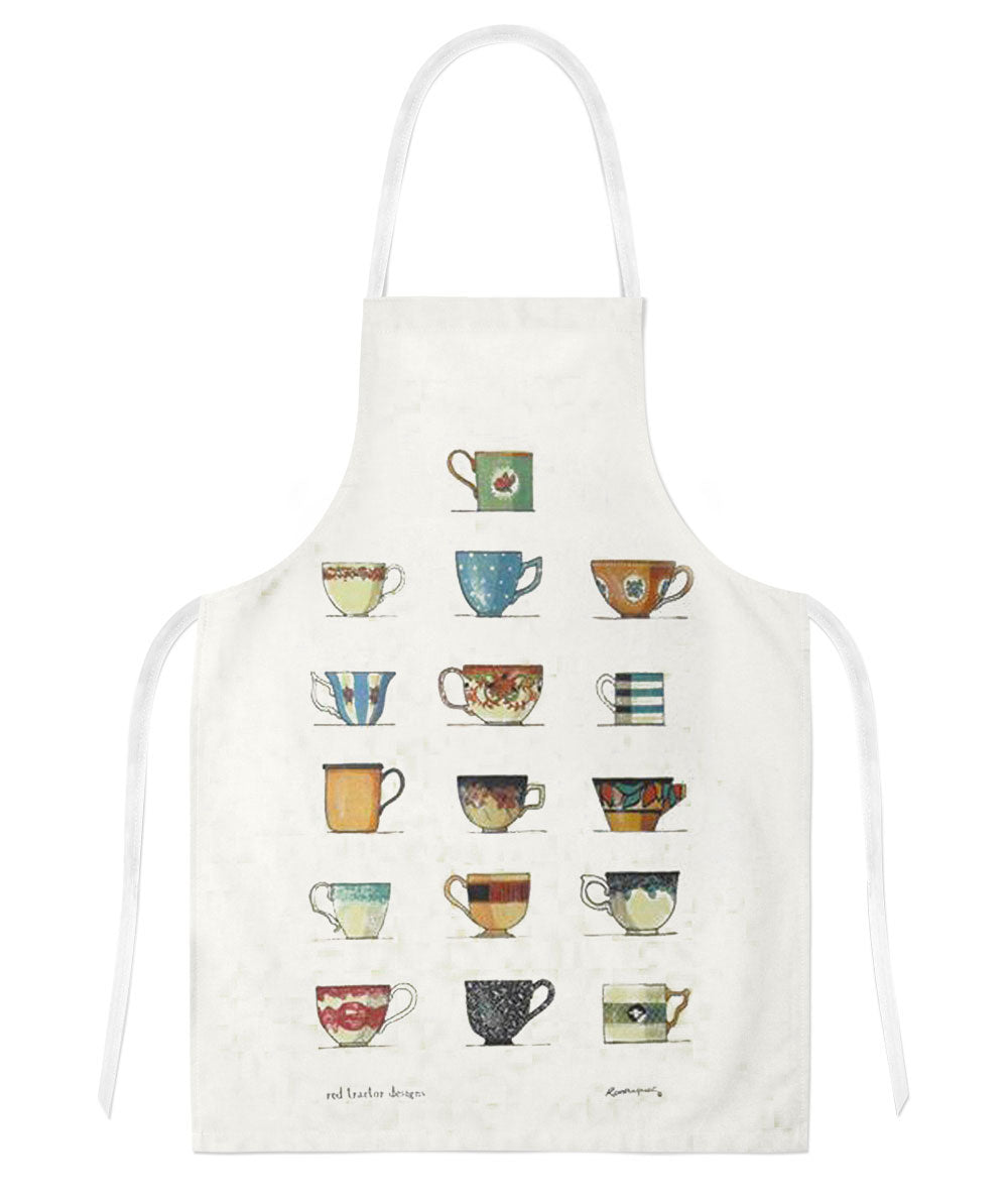 Red Tractor Designs - Tea Cups Apron
