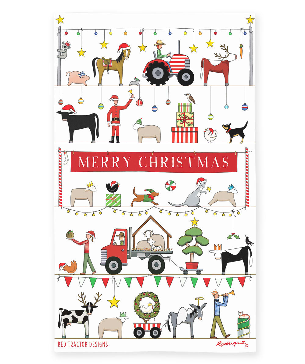 Red Tractor Designs - The Christmas Parade