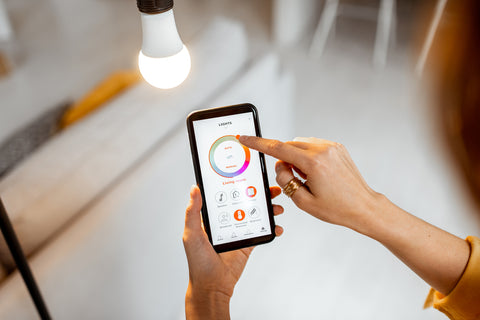 controlling your lighting from your phone