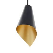 Load image into Gallery viewer, pendant  light in black and gold modern designer  lighting