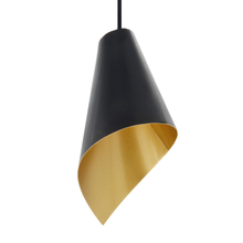 Load image into Gallery viewer, pendant light in black and gold modern luxury lighting