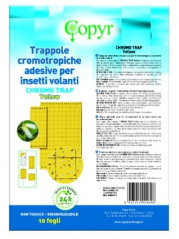 Chromo Trap Yellow - Insetti volanti