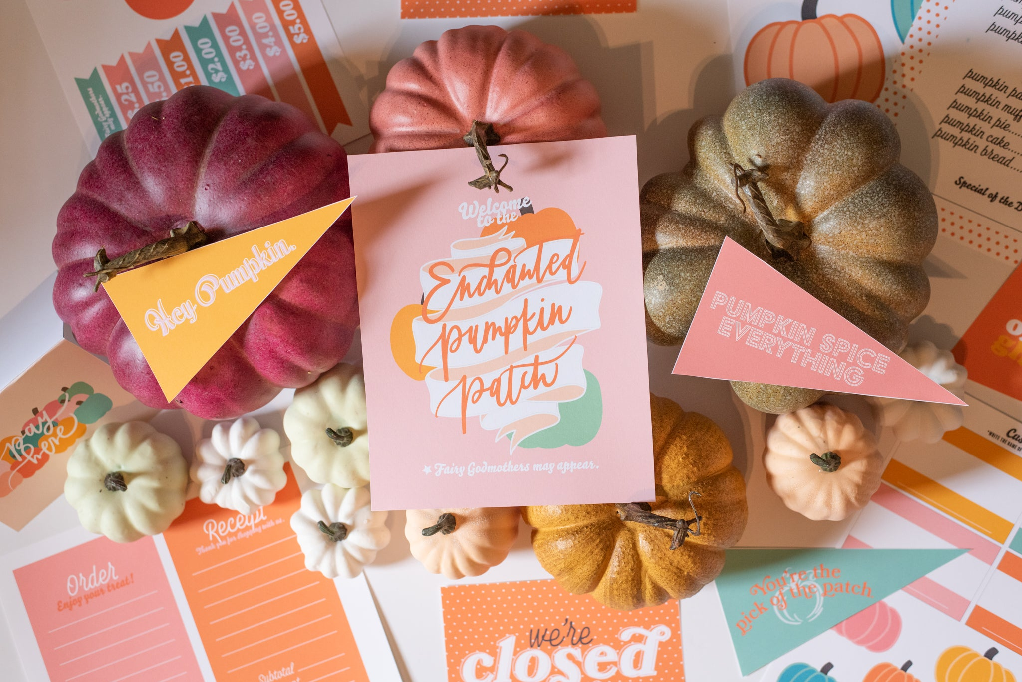 Enchanted Pumpkin Patch | Printable Activity Set