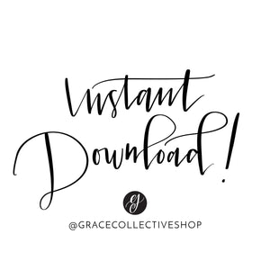 Grow in Grace | Printable Art