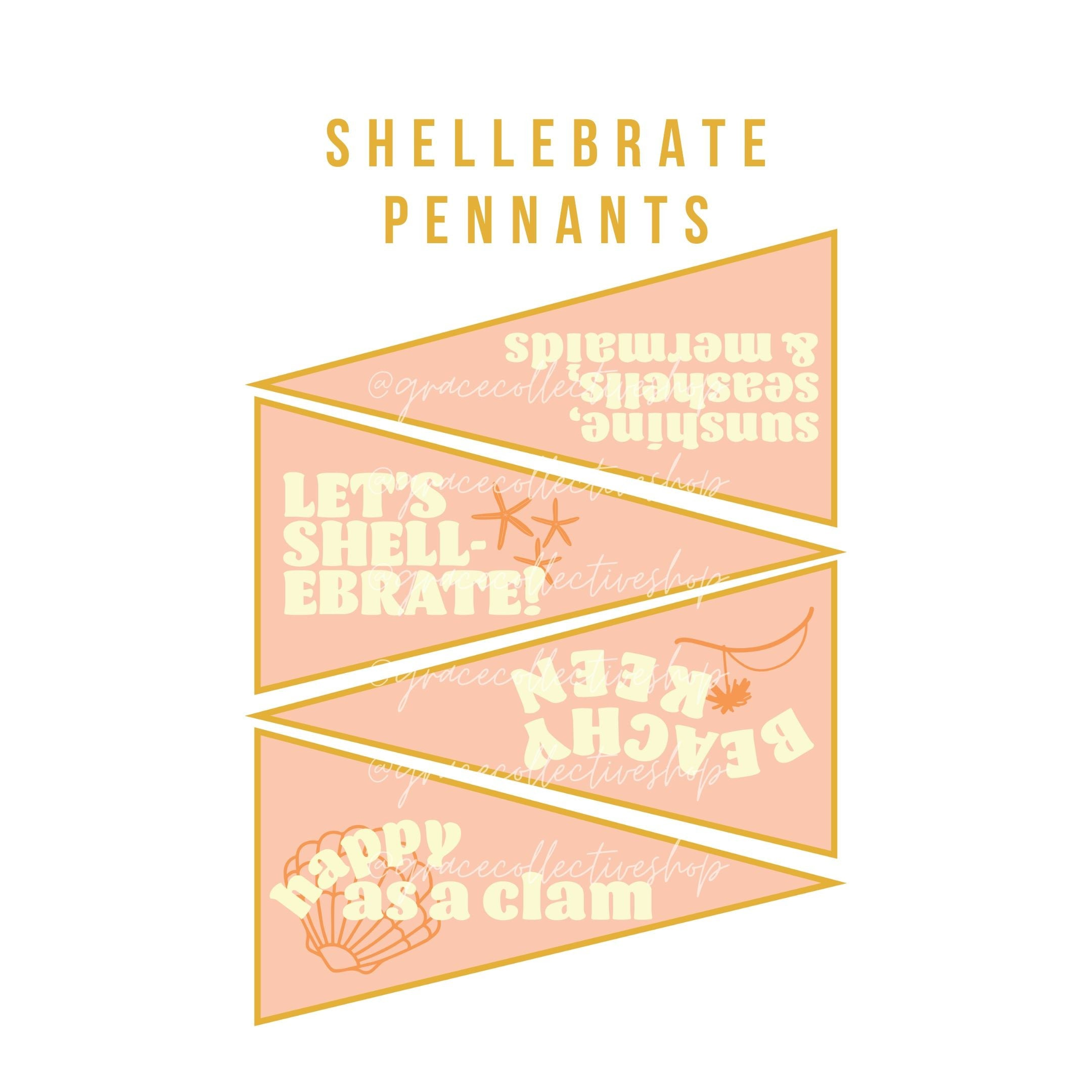 Shellebrate Good Times | Printable Party Set