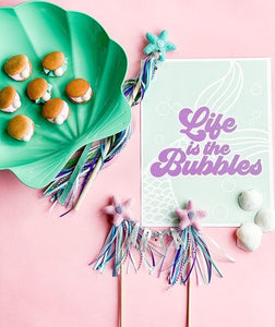 Life is the Bubbles | Printable Party Set