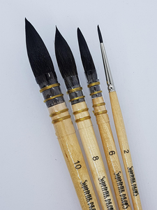 Professional Watercolour Brushes