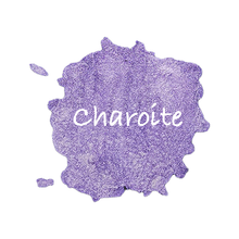 Load image into Gallery viewer, Charoite Shimmer Watercolour Half Pan