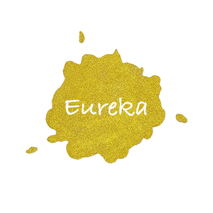 Eureka Shimmer Watercolour Paint Half Pan