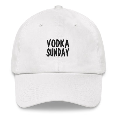 OG Logo Dad White Hat - Vodka Sunday