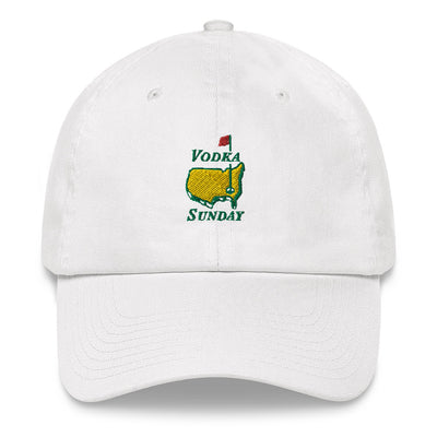 Masters Golf White Hat - Vodka Sunday