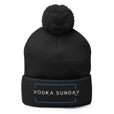 lack Beanie Logo  - Vodka Sunday