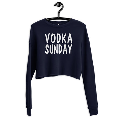 OG Logo Crop Sweatshirt - Vodka Sunday