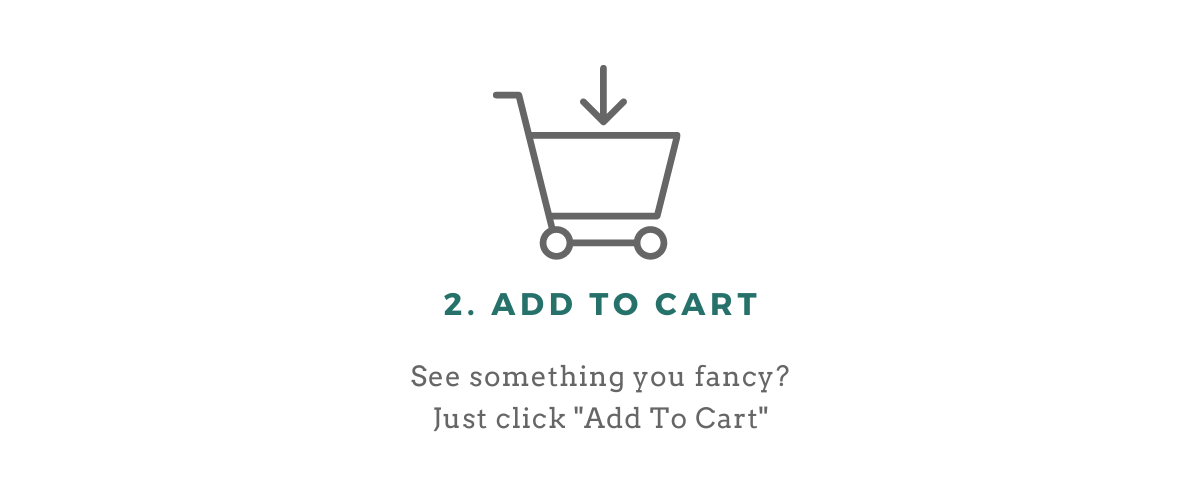 Order process step 2 add to cart