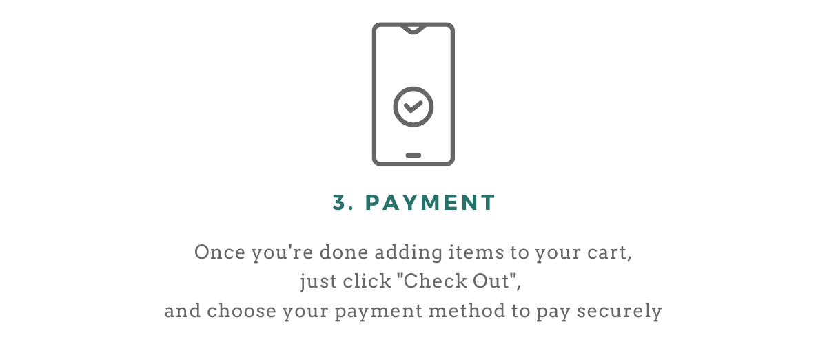 Order process step 3 payment