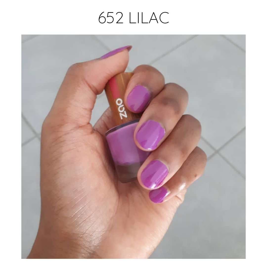 certified vegan nail polish bio-sourced 10 free creative 652 lilac
