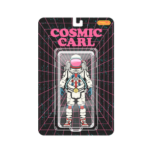 cosmic carl sticker