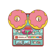Load image into Gallery viewer, donut kill my vibe sticker