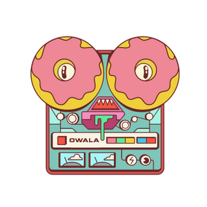 donut kill my vibe sticker