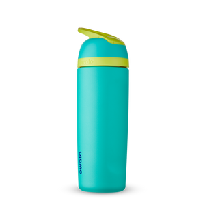 19oz Neon Basil Stainless Steel Insulated Owala Flip Water Bottle