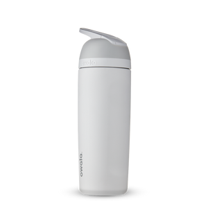 19oz Shy Marshmallow Stainless Steel Insulated Owala Flip Water Bottle