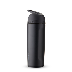 19oz Very, Very Dark Stainless Steel Insulated Owala Flip Water Bottle