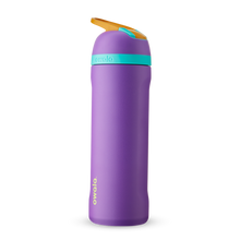 Load image into Gallery viewer, 24oz Hint of Grape Stainless Steel Insulated Owala Flip Water Bottle