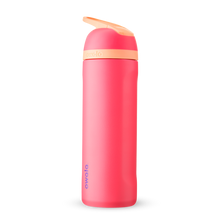 Load image into Gallery viewer, 24oz Hyper Flamingo Stainless Steel Insulated Owala Flip Water Bottle