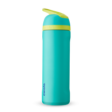 Load image into Gallery viewer, 24oz Neon Basil Stainless Steel Insulated Owala Flip Water Bottle