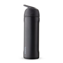 Load image into Gallery viewer, 24oz Very, Very Dark Stainless Steel Insulated Owala Flip Water Bottle
