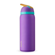 Load image into Gallery viewer, 32oz Hint of Grape Stainless Steel Insulated Owala Flip Water Bottle